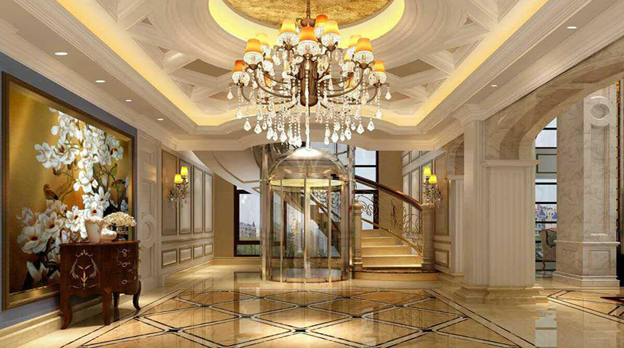 唐家湾-中海银海湾别墅电梯